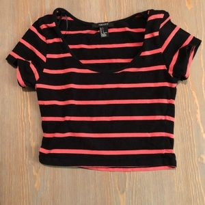 Forever 21 Crop Top- Size Small